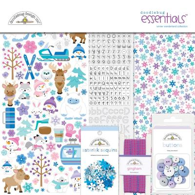 Doodlebug Winter Wonderland - Essentials Kit