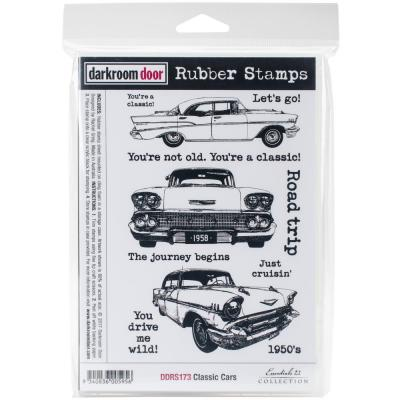 Darkroom Door Quote Rubber Stamps - Classic Cars Vol 1