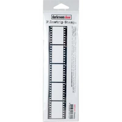 Darkroom Door Rubber Stamp - Filmstrip