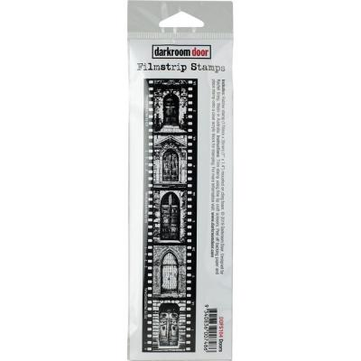 Darkroom Door Rubber Stamp - Doors