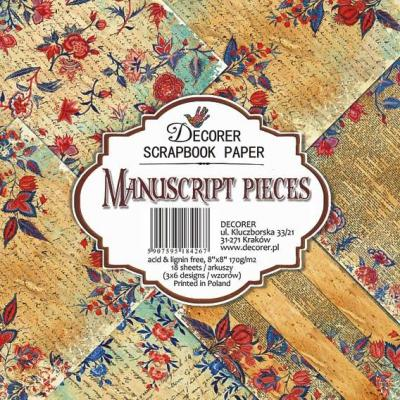 Decorer Paper Pack Designpapier - Manuscript Pieces