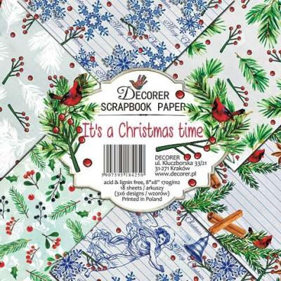 Decorer Paper Pack Designpapier - It's a Christmas Time