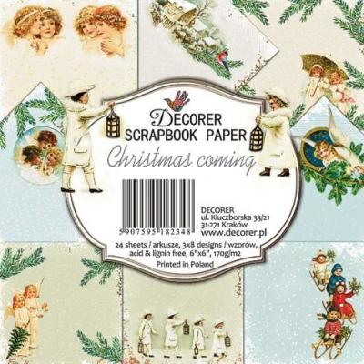 Decorer Paper Pack Designpapier - Christmas Coming