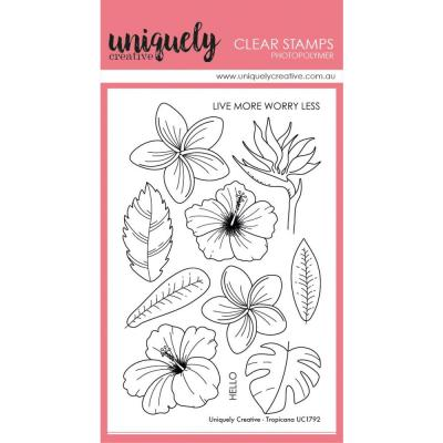 Uniquely Creative Clear Stamps - Tropicana