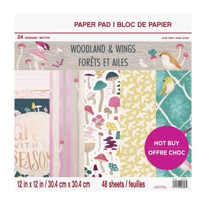 Craft Smith Woodland & Wings Designpapier - Paper Pad