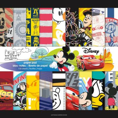 Trends Disney Single-Sided Mega Paper Pad - Boy