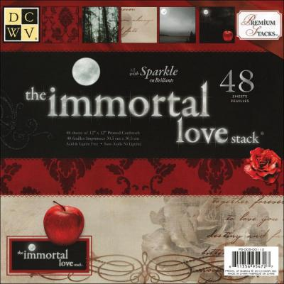 DCWV Designpapier - Immortal Love