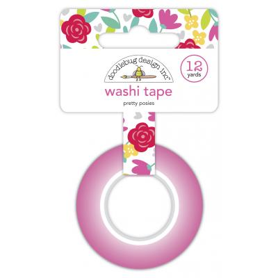 Doodlebug Love Notes Washi Tape - Pretty Posies