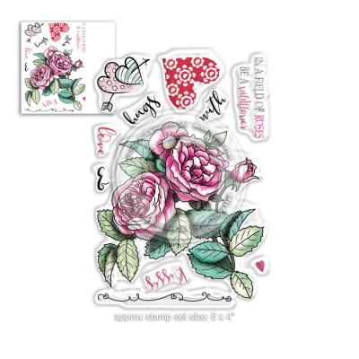Polkadoodles Clear Stamps - Love & Kisses