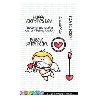 C.C. Designs Clear Stamps - Heart You