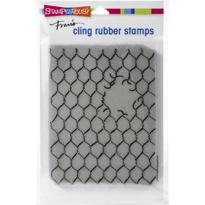 Stampendous Cling Stamp - Chicken Wire
