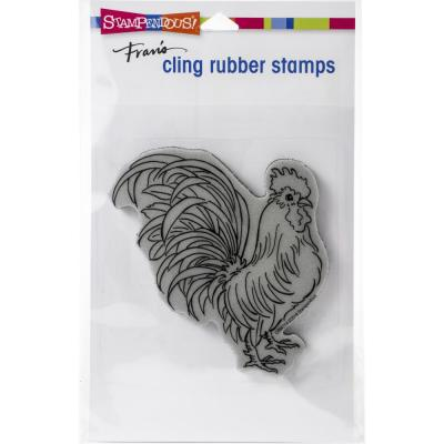 Stampendous Cling Stamp - Rooster