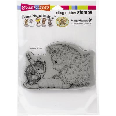 Stampendous House Mouse Cling Stamp - Kitten Cast