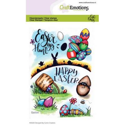 CraftEmotions Clear Stamps - Ostern