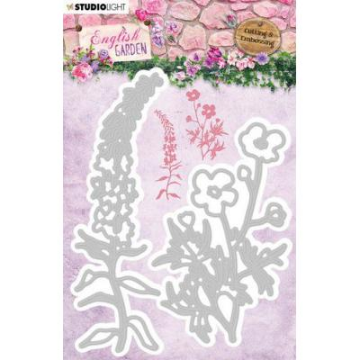 StudioLight English Garden Embossing Die - nr.238