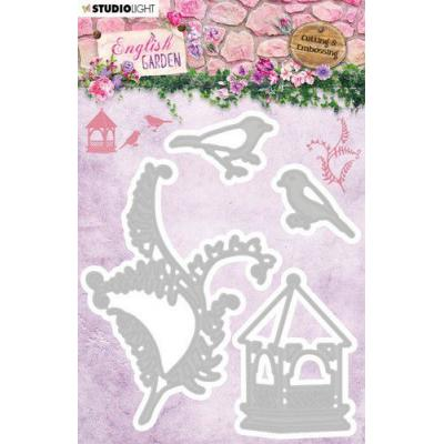 StudioLight English Garden Embossing Die - nr.237