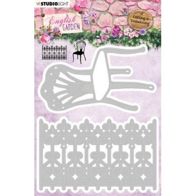 StudioLight English Garden Embossing Die - nr.236