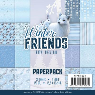 Amy Design Winter Friends Designpapier - Paper Pack