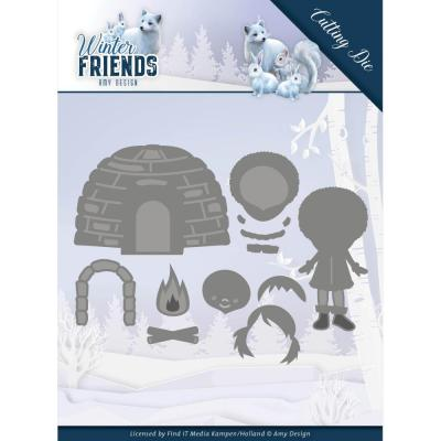 Amy Design Winter Friends Die - Eskimo