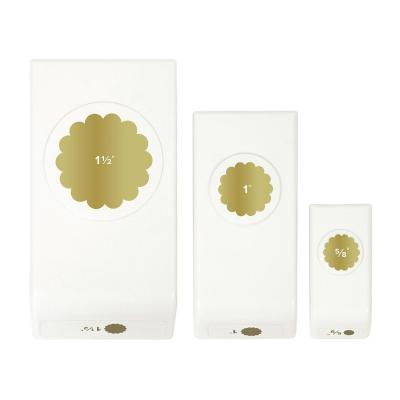 We R Memory Keepers Motivstanzer -  Layered Punch Scallop Circles