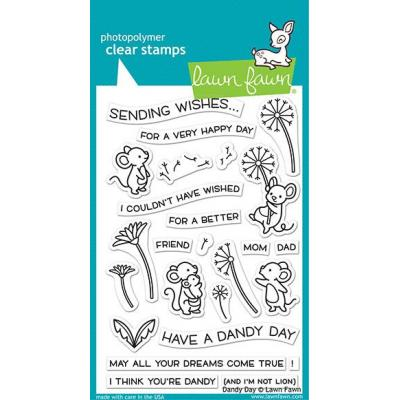 Lawn Fawn Clear Stamps - Dandy Day