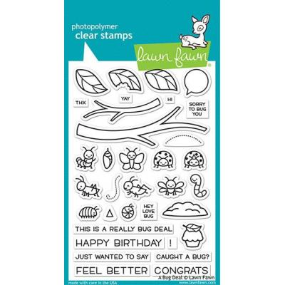 Lawn Fawn Clear Stamps - A Bug Deal