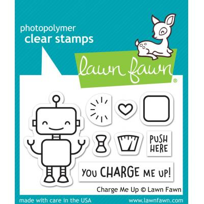 Lawn Fawn Clear Stamps - Charge Me Up
