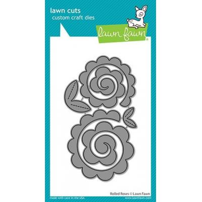 Lawn Fawn Lawn Cuts - Rolled Roses