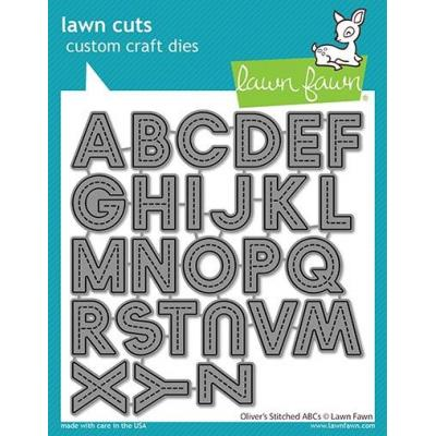 Lawn Fawn Lawn Cuts - Oliver´s Stitched ABCs