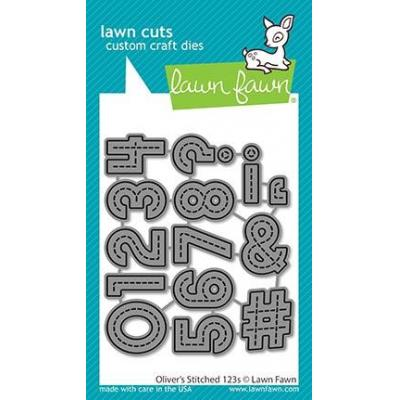Lawn Fawn Lawn Cuts - Oliver´s Stitched 123s