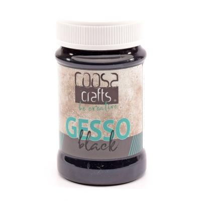 COOSA Crafts Gesso Black