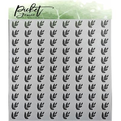 Picket Fence Studios Stencil - Leaves