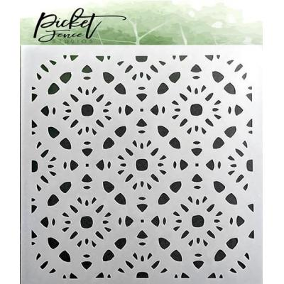 Picket Fence Studios Stencil - Patterns of Flowers