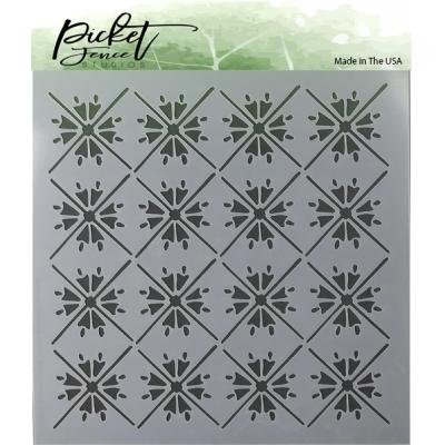 Picket Fence Studios Stencil - Moroccan Tiles