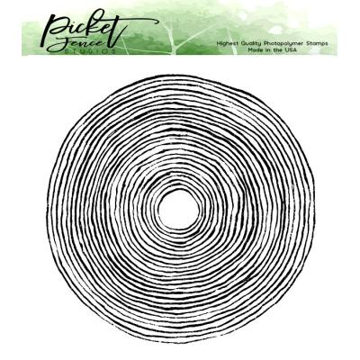 Picket Fence Studios Clear Stamp - Circles of Faith