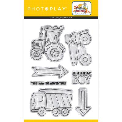 PhotoPlay Little Builder - Clear Stamps