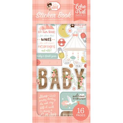 Echo Park Baby Girl - Sticker Book