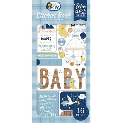 Echo Park Baby Boy - Sticker Book
