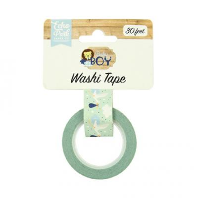 Echo Park Baby Boy Washi Tape - Stork