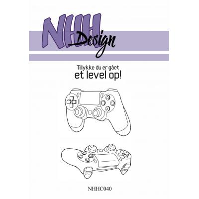 NHH Design Clear Stamps - Joysticks