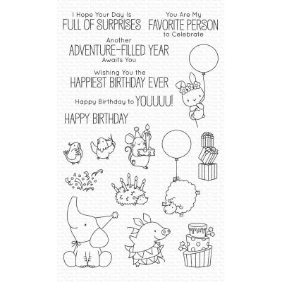 My Favorite Things Clear Stamps - Birthday Buds
