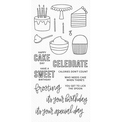 My Favorite Things Clear Stamps - Birthdays Take the Cake