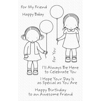 My Favorite Things Clear Stamps - Birthday Besties