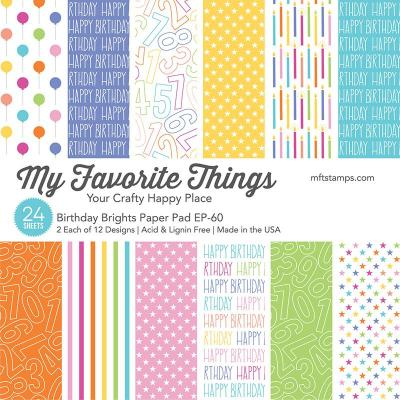 My Favorite Things Designpapier - Birthday Brights