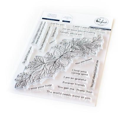 Pinkfresh Studio Clear Stamps - Leafy Decor