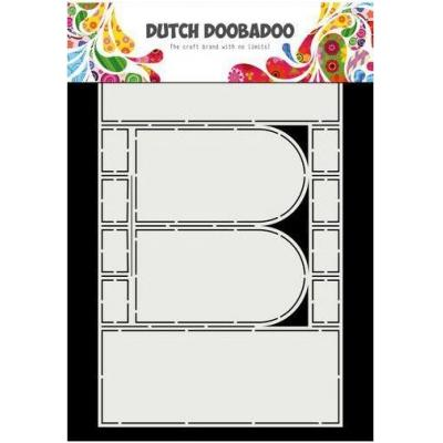 Dutch Doobadoo Dutch Card Art Schablone - Fenster - Bogen