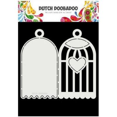 Dutch Doobadoo Dutch Card Art Schablone - Vogelkäfig