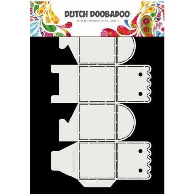 Dutch Doobadoo Dutch Box Art Schablone - Scallop