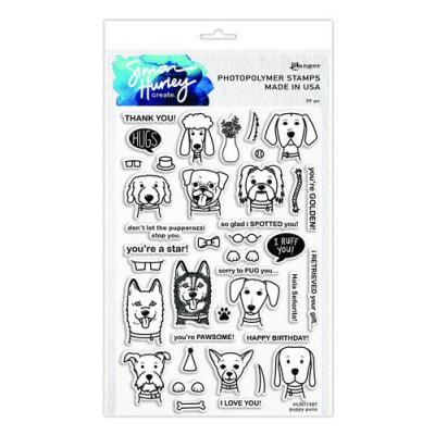Ranger SH Clear Stamps Simon Hurley - Puppy Puns