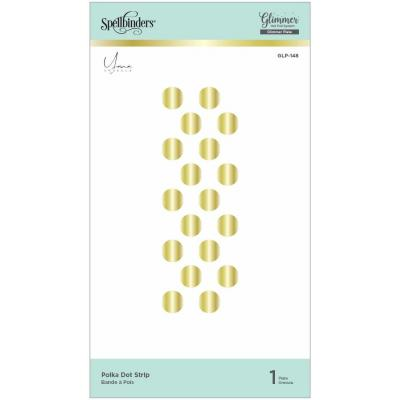 Spellbinders Hot Foil Plates - Polka Dot Strip